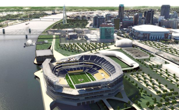 St. Louis stadium lawsuit can't keep a judge