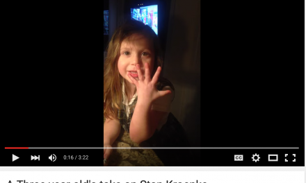 A Three Year Old's View on Stan Kroenke