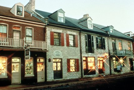 Main Street in St. Charles offers a Variety of Shopping, Dining, and Nightlife