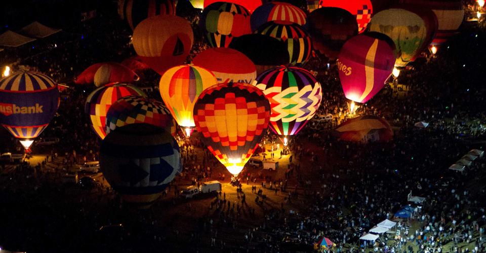 St. Louis Balloon Glow
