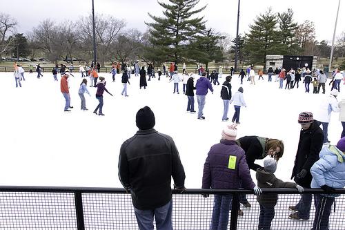 Steinberg Ice Skating Rink in St. Louis