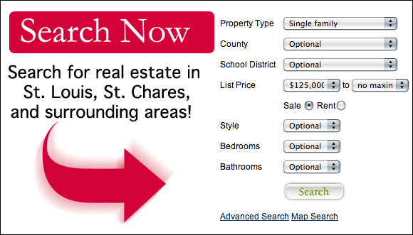 St. Louis Home Search