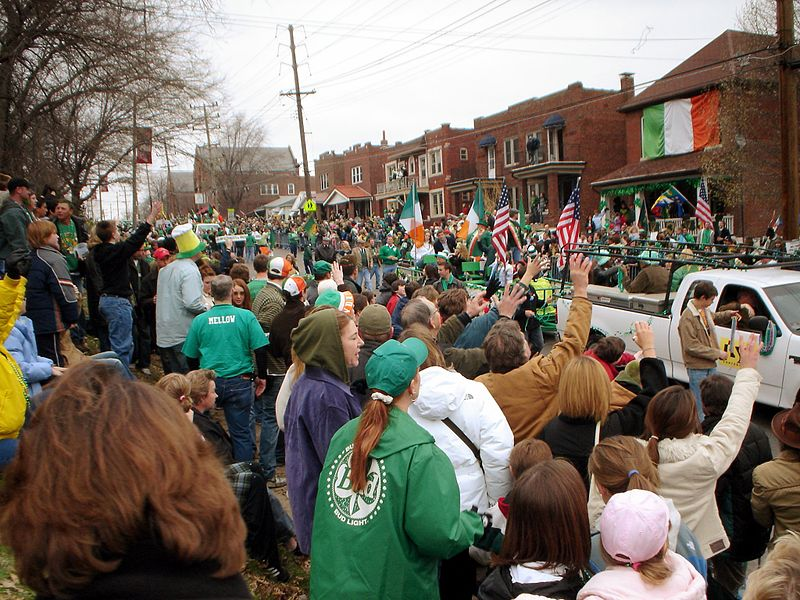 Saint Patrick's Day Parade in Dogtown