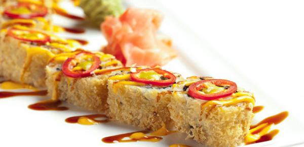 Sushi at Prasino