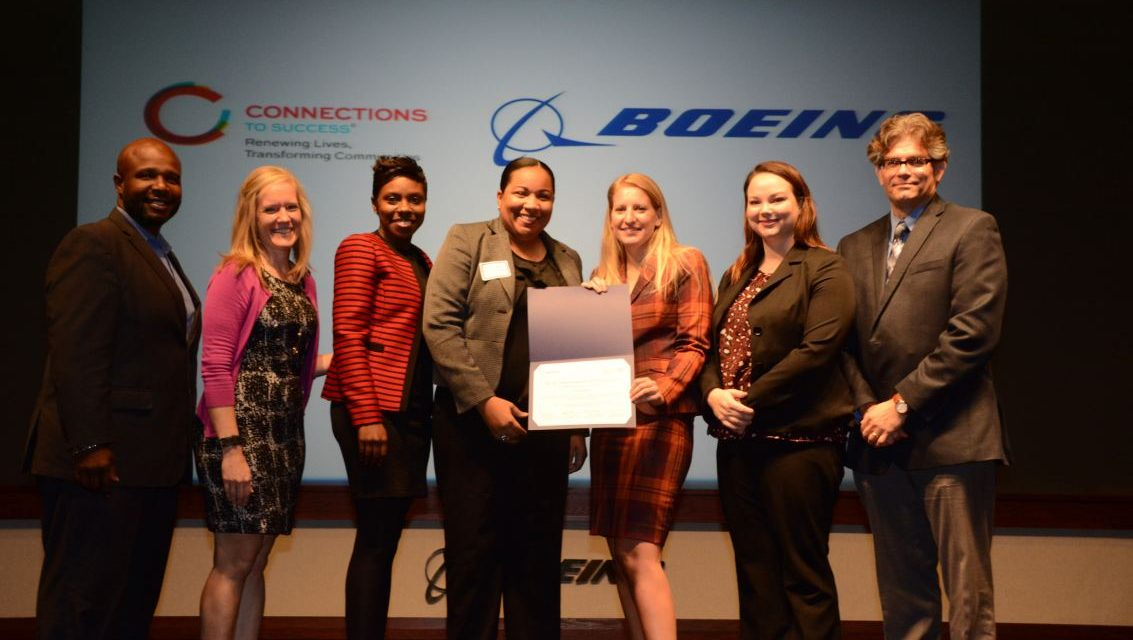 Boeing and Connections to Success support Veteran Employment Together