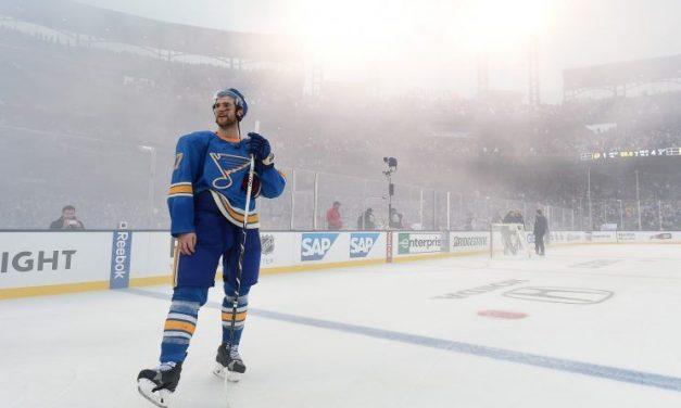 Blues Beat Blackhawks in Winter Classic