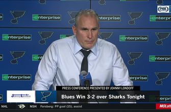 Berube on Mikkola's NHL debut: 'He was a good player tonight',