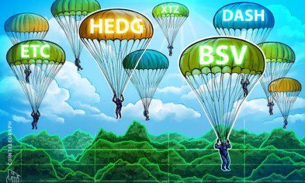 Top 5 Cryptos This Week (Jan 26): HEDG, DASH, BSV, ETC, XTZ
