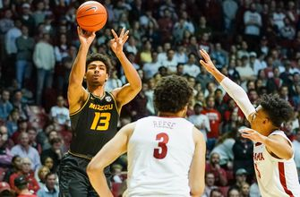 Mizzou battles back before Alabama pulls away in second half, falling 88-74,