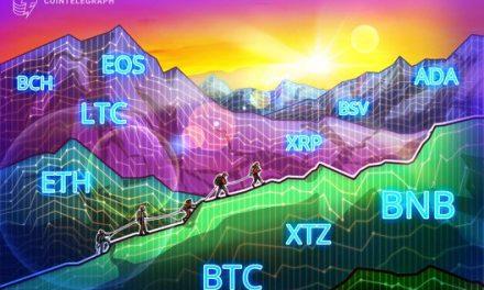 Price Analysis Feb 12: BTC, ETH, XRP, BCH, BSV, LTC, EOS, BNB, XTZ, ADA