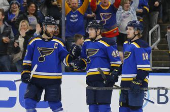 Barbashev scores twice as Blues shut out Devils 3-0,