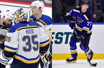 Blues sign Husso, Mikkola to two-year deals,