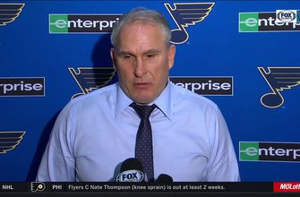Berube: 'I don't think [emotions] affected our team in a negative way tonight',