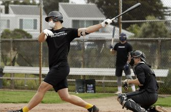 Minor leaguers, college players try to stay ready for baseball's return,
