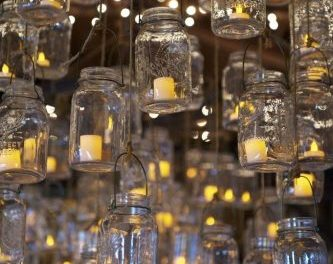 Candle Light for Romantic Outdoor Touches at Your Wedding