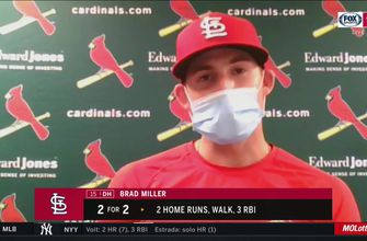 Miller on watching players' MLB debuts: 'They earned it so, it's pretty special',