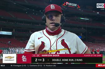 Bader after Cardinals' win: 'Big team win, we did everything well',