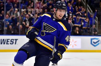 Blues' Barbashev returns to St. Louis for birth of first child,