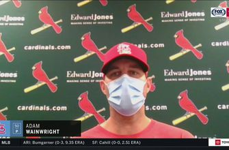 Wainwright on mindset prior to game: 'I was already so locked in on finishing today',