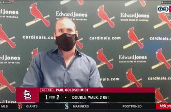 Goldschmidt says Cardinals have to 'move on' from loss with upcoming doubleheader,
