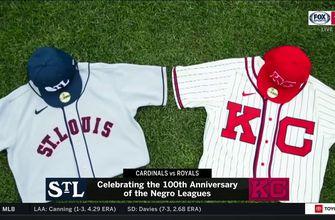 Cardinals, Royals wear Negro Leagues throwbacks,