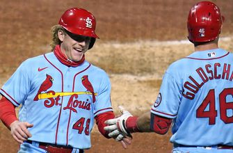 Cardinals rally in seventh, come back to beat Pirates 5-4,