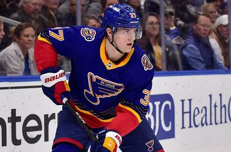 Blues prospect Kostin assigned to KHL team,