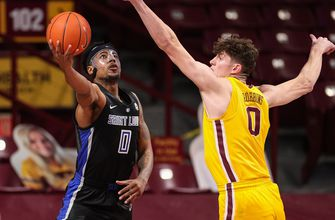 Billikens' undefeated run ends with 90-82 loss to Golden Gophers,