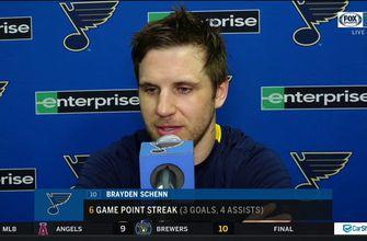 Brayden Schenn: 'Our toughest games are yet to come',