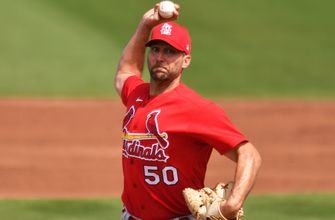 Cardinals rally to 5-5 tie with Nationals after Wainwright's strong start,