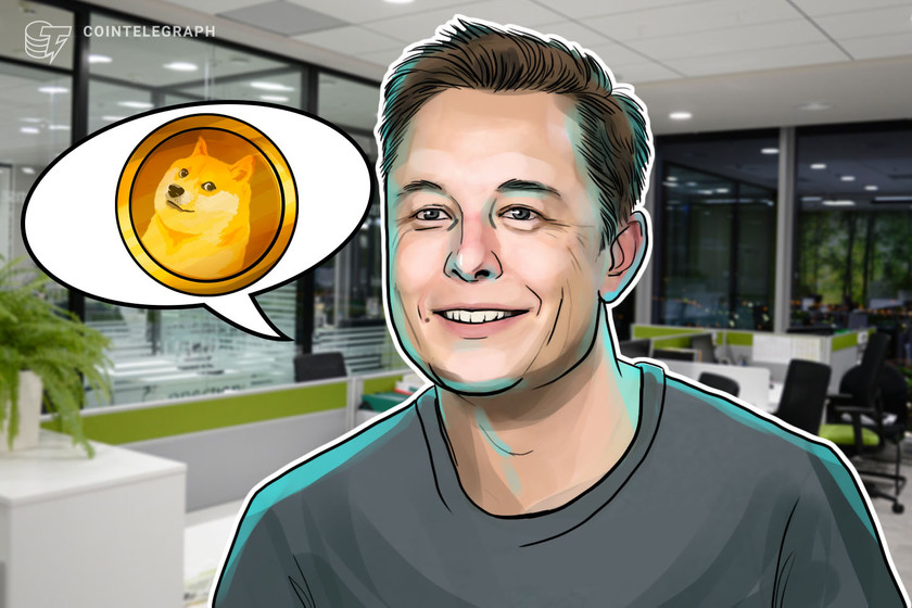 To the 'literal moon'? Elon Musk SpaceX tweet gives Dogecoin a 35% liftoff