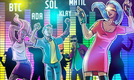 Top 5 cryptocurrencies to watch this week: BTC, ADA, SOL, MATIC, KLAY