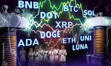 Price analysis 9/1: BTC, ETH, ADA, BNB, XRP, DOGE, SOL, DOT, UNI, LUNA